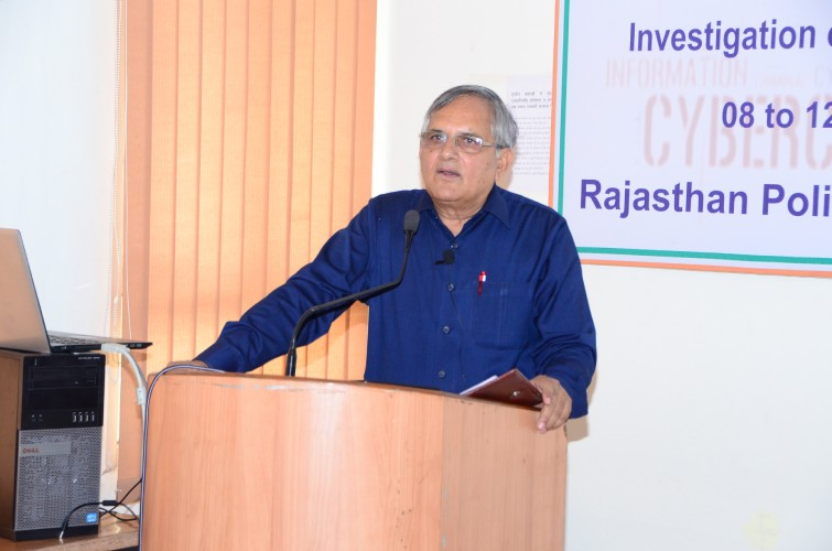 Rajasthan Police Academy, Jaipur 08/08/2016-12/08/2016 05 days In-house Course on Investigation of Cybercrime Cases