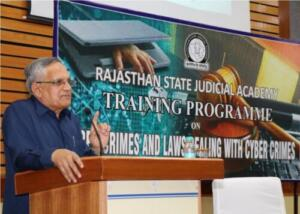 Rajasthan State Judicial Academy, Jodhpur 26/02/2017 Cyber Crime and Laws dealing with Cyber Crimes