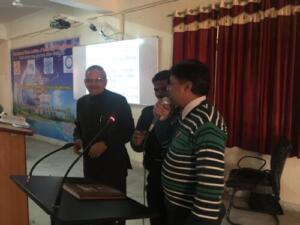 Shri Jagdishprasad Jhabarmal Tibrewala University, 12/02/2018 Awareness programme on Cyber Security and Cyber law