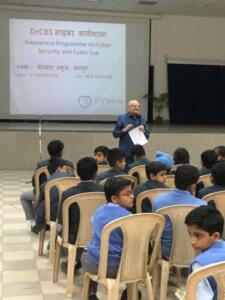 Sanskar School, Jaipur 22/02/2018 Awareness programme on Cyber Security and Cyber law