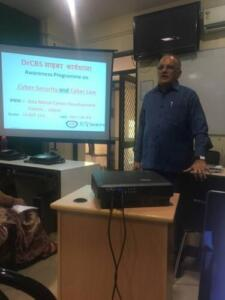 Gita Mittal Career Development Centre, Jaipur 10/03/2018 Awareness, Prevention of Cyber Crime and Cyber Security