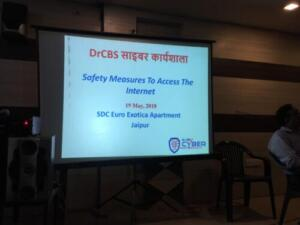 SDC Euro Exotica Apartment, Sanganer Jaipur 19/05/2018 Safety Measures To Access The Internet