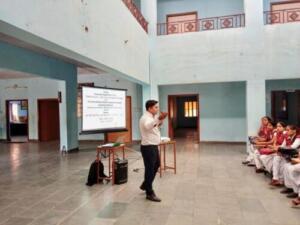 Bharti Vidhya Peeth College, Rajaldesar, Churu 12-10-2018 Cyber Security: Safe use of Computer and Mobile