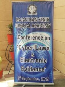 Rajsthan Judicial Academy,Jodhpur 01/09/2019 Cyber Lows and Electronic Evidence